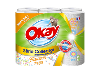 okay essuie tout collection collector