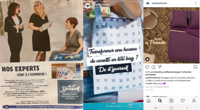 activation de la promotion Carrefour blanc 2020