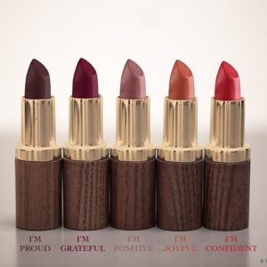 gamme de rouges à lèvres Melayci