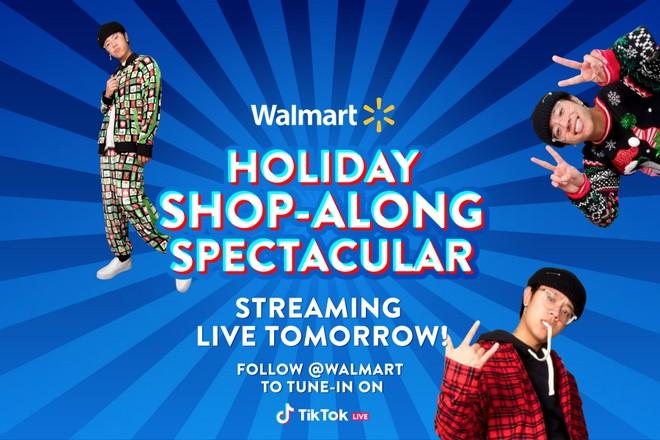 évènement de live streaming de Walmart sur Tiktok