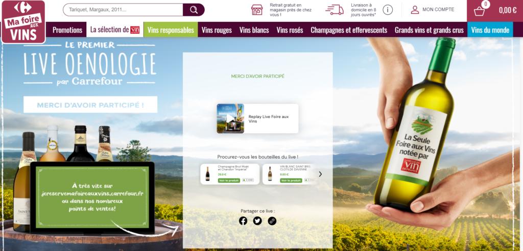 digitalisation de la promotion avec le live commerce